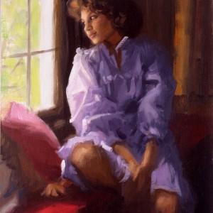 Alicia Purple Sketch