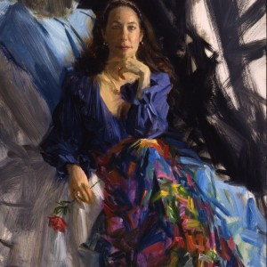 The Artist's Wife as 'Carmen'
